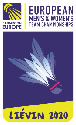 Badminton. European Team Championship. The final. Men